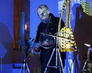 Rudi Punzo in seinem Element! Der Italiener wird mit seiner Performance in Kassel zu Art in Energy erwartet