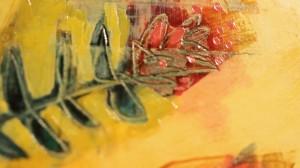 Ausschnitt aus Al-Maborens Kunstwerk