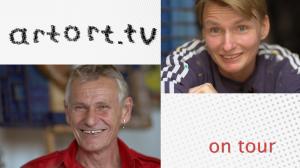 Daniela Schaller und Pero im artort.tv Interview