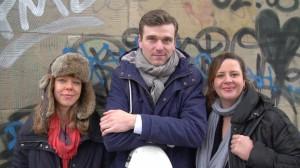 Das Trio Ricarda Schmersahl, Johannes Raab und Maike Schmersahl