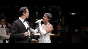Henrik Wager und Judith Lefeber singen von der Vorfreude auf das Fest