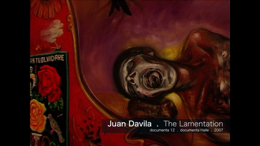 Juan Davila - The Lamentation