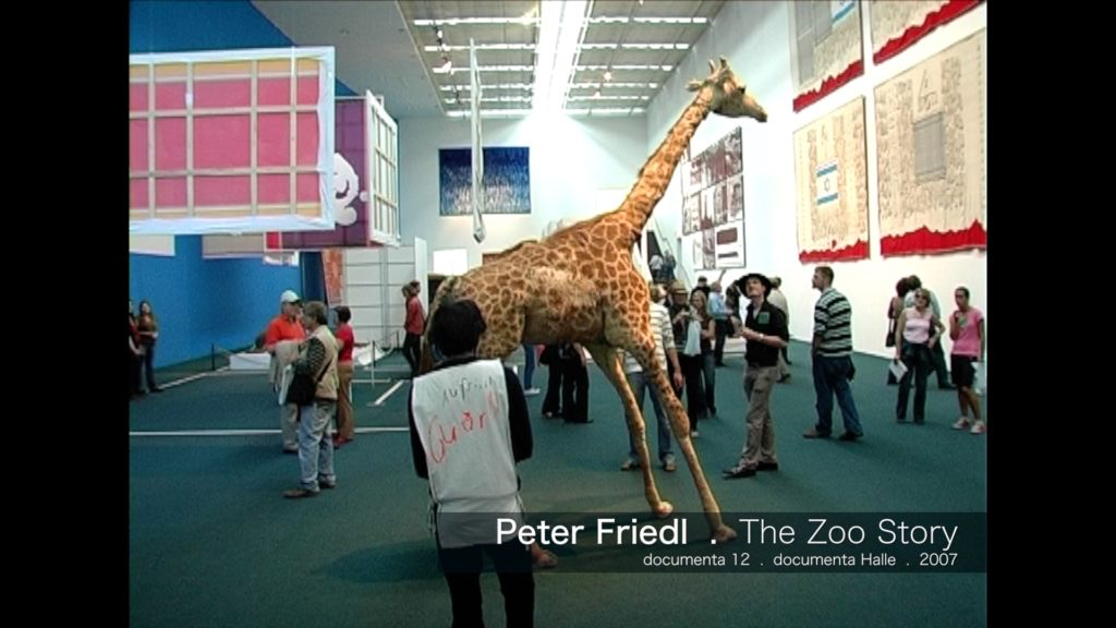 Peter Friedl - The Zoo Story