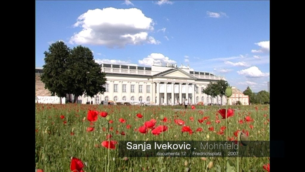 Sanja Iveković - Mohnfeld