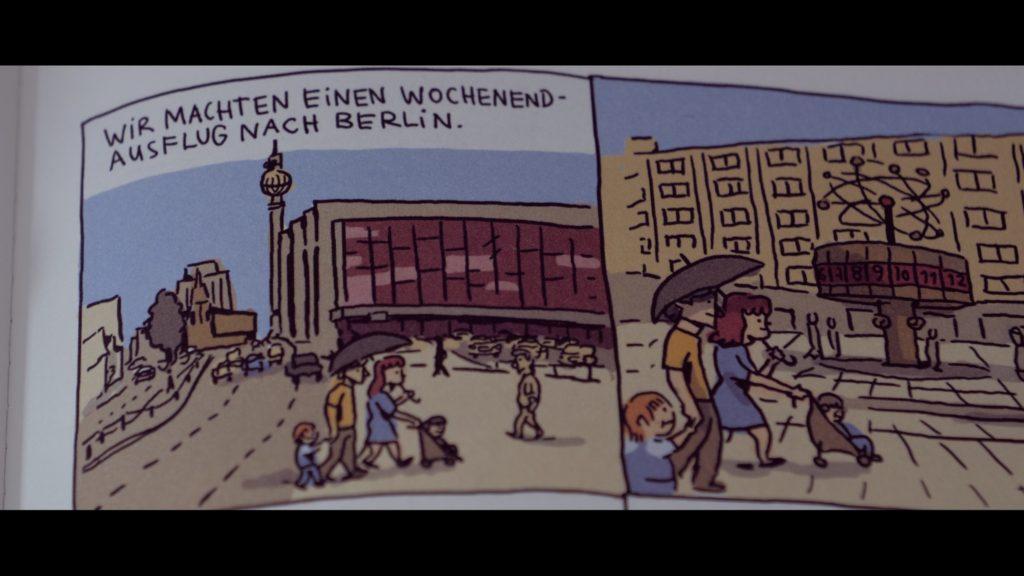 Eine Ost-Berlin-Reise bringt Nils Eltern zum zweifeln