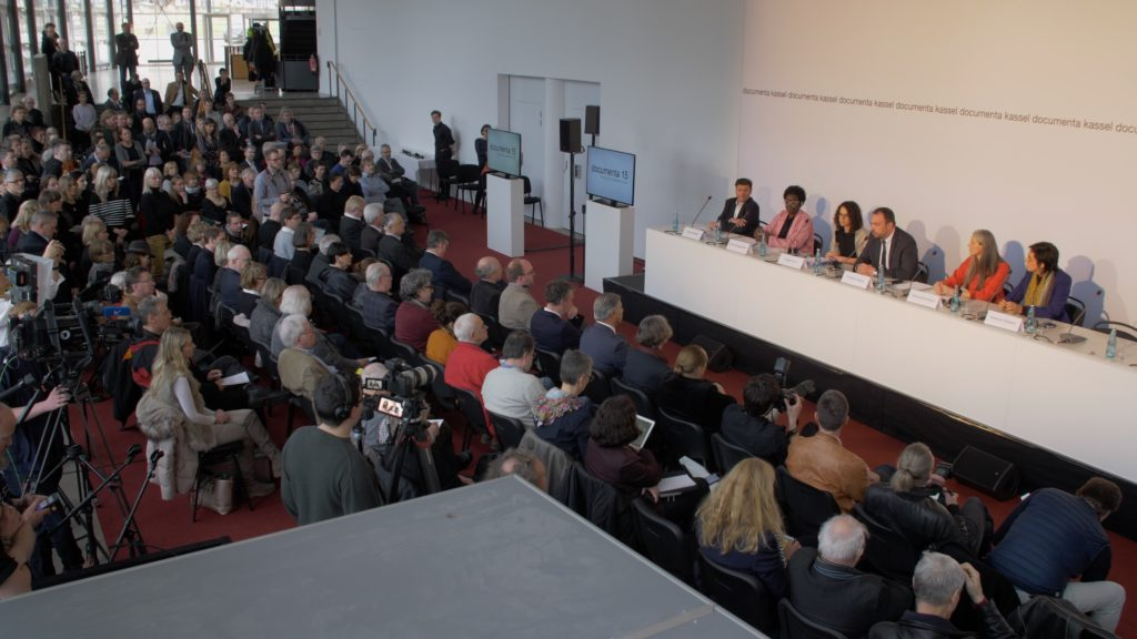 Pressekonferenz der documenta 15 Findungskommission