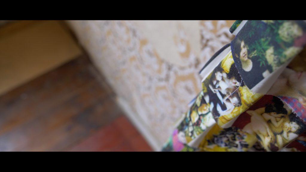 Ein Kunstwerk im Hugenottenhaus im Detail - denn es wird noch nichts verraten!