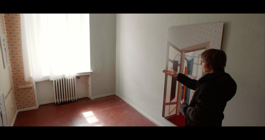 Christine Erhards Arbeit spielt perfekt mit dem Licht in Raum 19