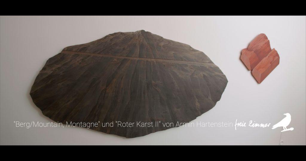 """Die Arbeit von Armin Hartenstein """"Berg/Mountain, Montagne"""" und """"Roter Karst II"""""""