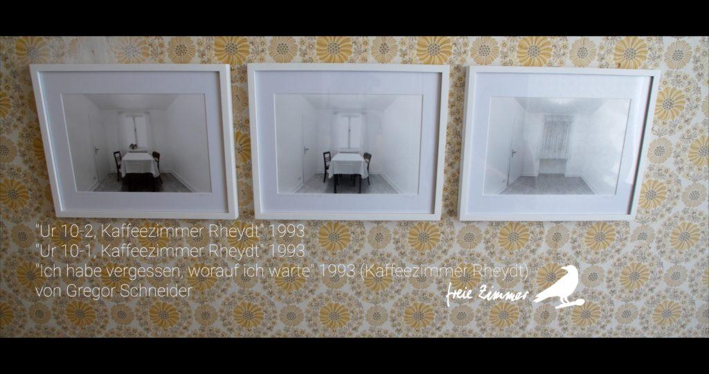 In Zimmer 17 befindet sich die Arbeit von Gregor Schneider