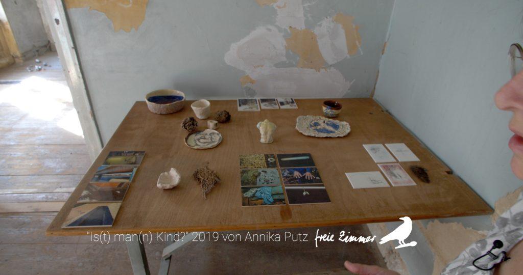 Die Arbeit von Annika Putz im Hugenottenhaus