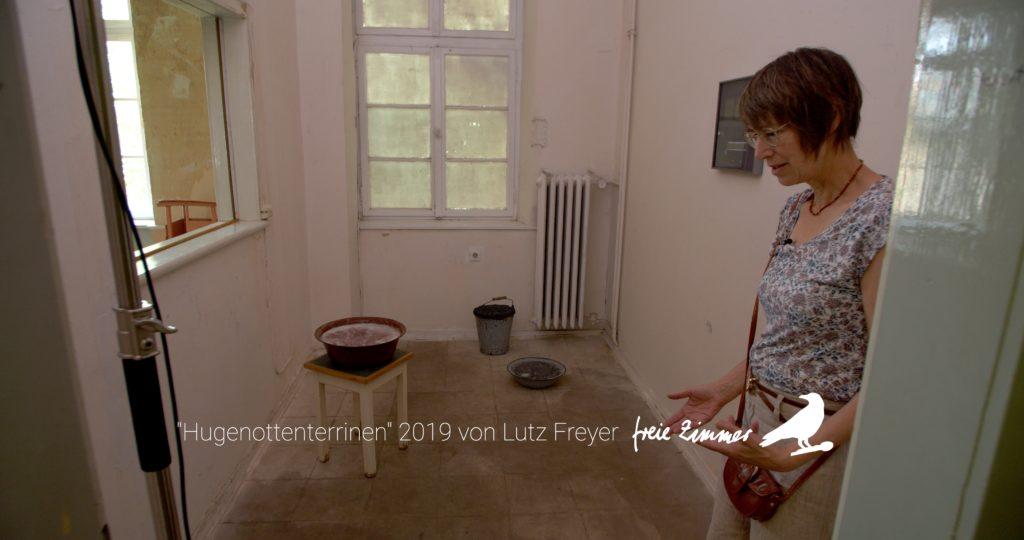"""Die """"Hugenottenterrinen"""" von Lutz Freyer in Zimmer 11"""