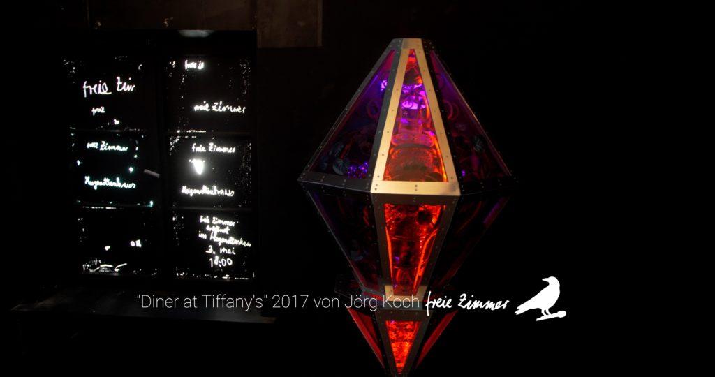 """Eine Arbeit in der es viel zu entdecken gab - """"Diner at Tiffany's"""" von Jörg Koch"""