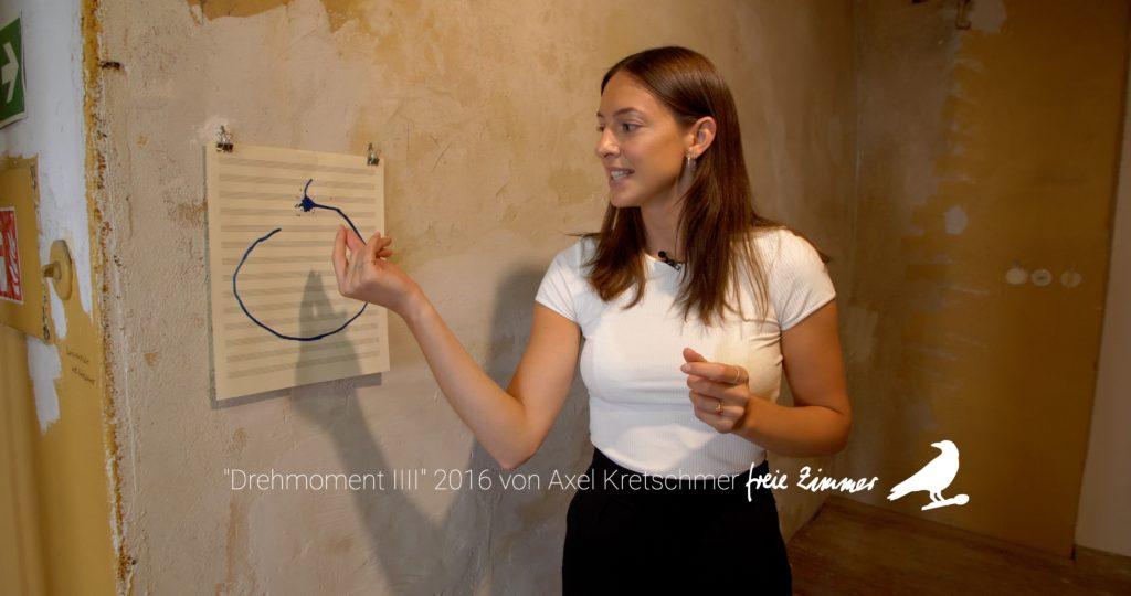 Maren Freyer stellt die Arbeit von Axel Kretschmer vor